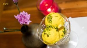 Saffron Ice cream